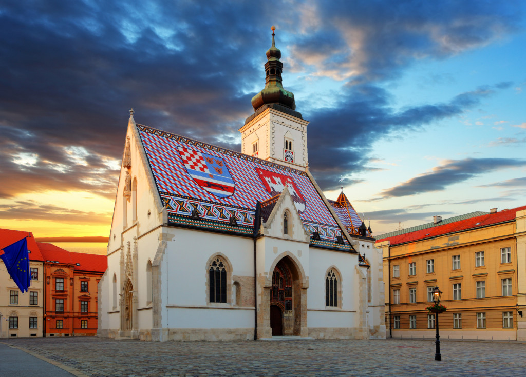 Zagreb church - St Mark