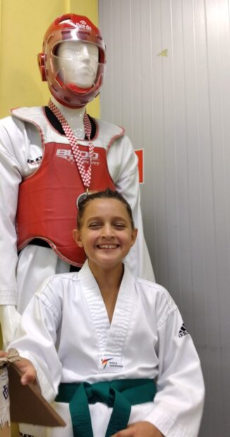 TINA SULE, brončana medalja (mlađe kadetkinje -33 kg)